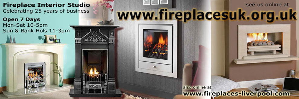 Links to Fireplaces Liverpool