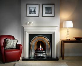 The Crown and Asquith fireplace